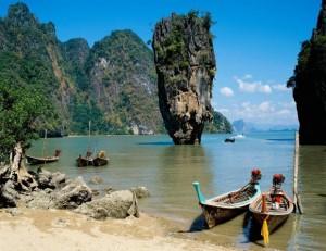 spiagge bianche della Thailandia